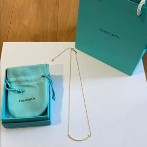 Tiffany & Co.  Tiffany T Smile Pendant necklace